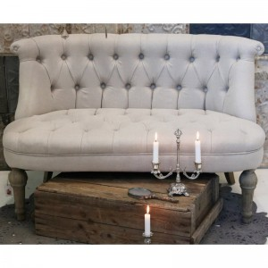 French Sofa Tapicerowana Chic Antique